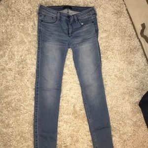 Abercrombie light wash jeans